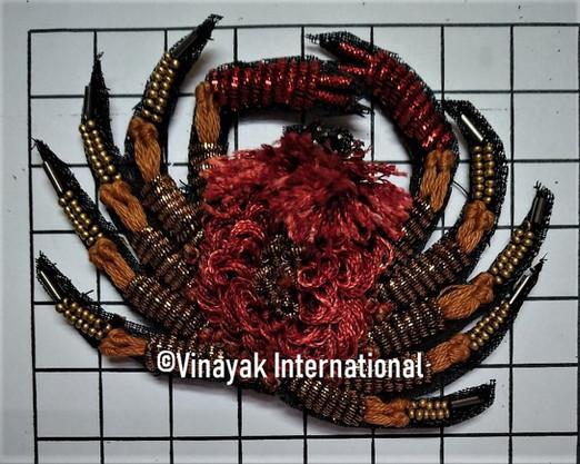 Spider Motif with fur