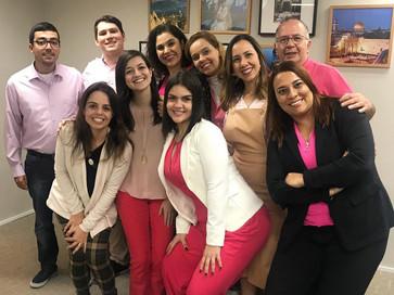 A Memorial também é rosa, todos juntos contra o câncer de mama