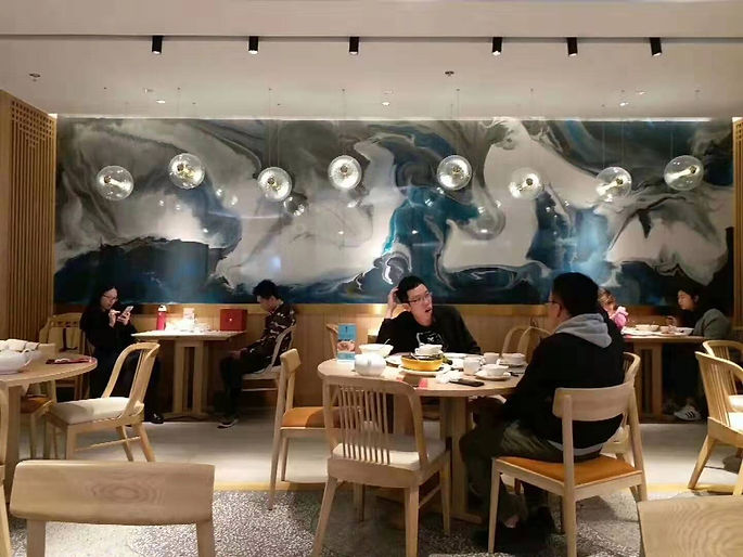 深圳莆田新餐厅油画 Room Five design.jpg