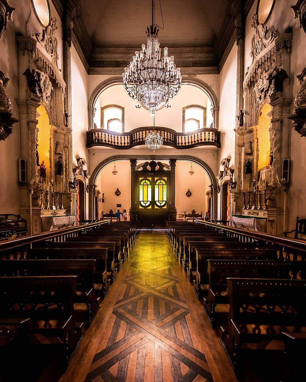 Igreja Nossa Senhora do Carmo. Foto: @brenodangeloc