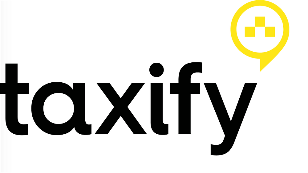 Logotipo do aplicativo de transporte Taxify