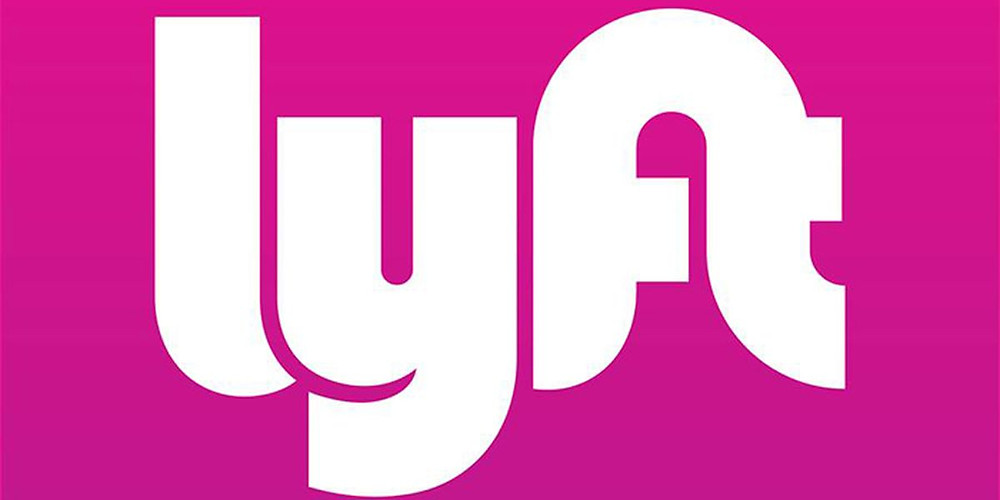 Logotipo do aplicativo de transporte Lyft