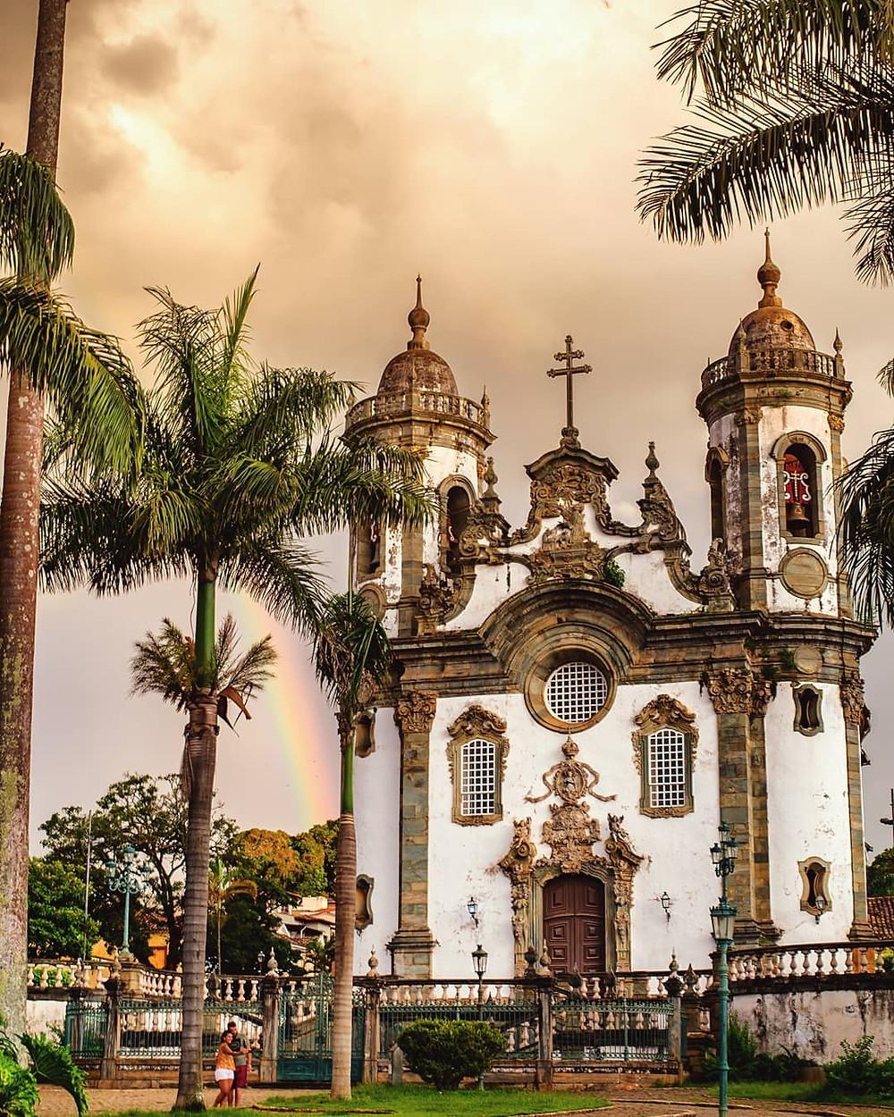 Igreja de São Francisco de Assis - São João Del Rei. Foto: @brenodangeloc