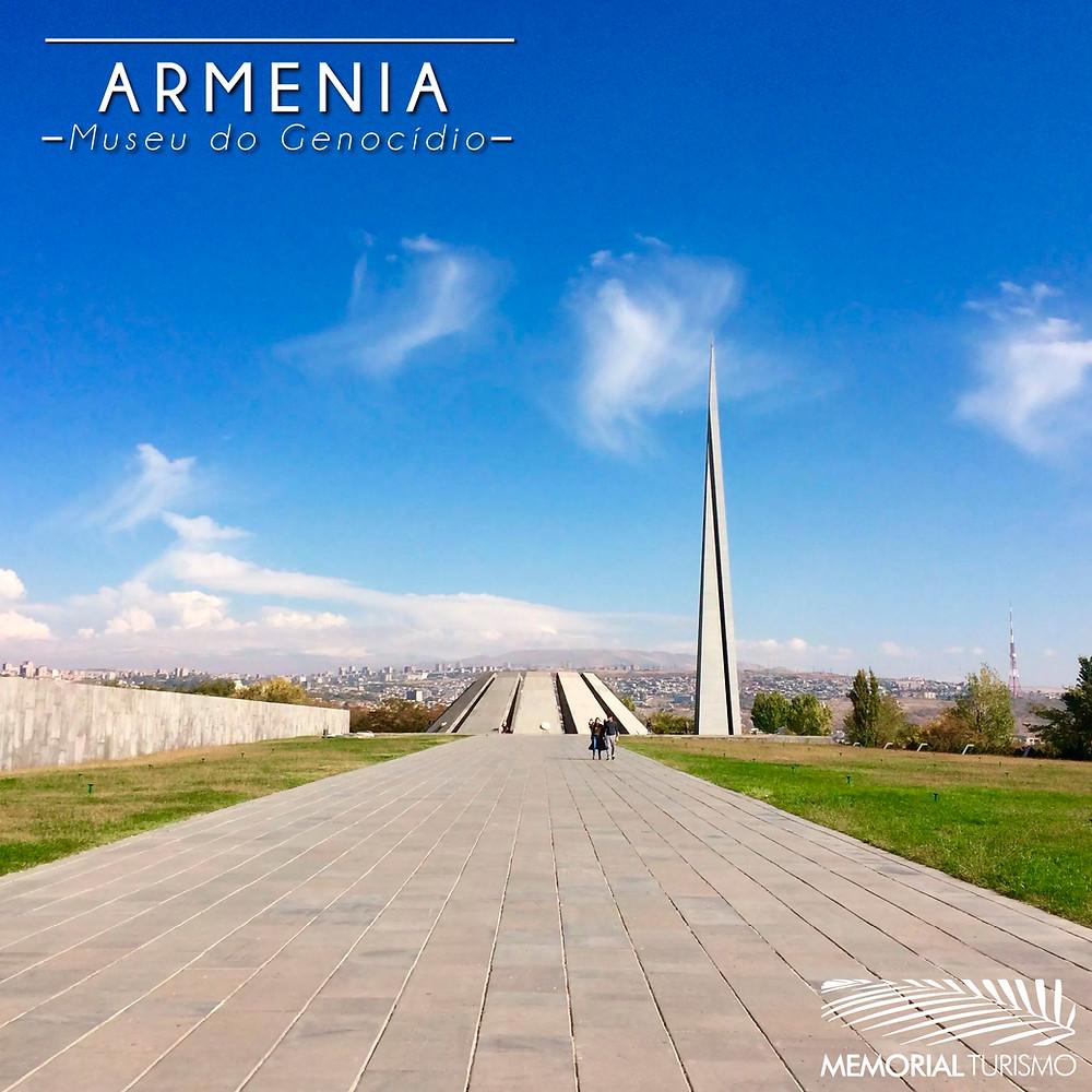 O Museu do Genocídio Armênio é um importante local para quem deseja aprender mais sobre a história da Armênia.