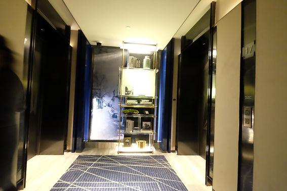 beijing intercontinential hotel lift lob