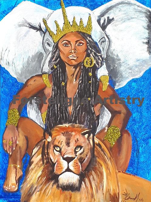 Yaa Asantewaa Prints