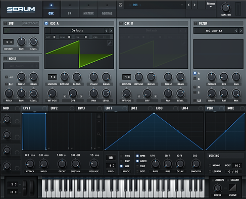 Serum sound design plugin.