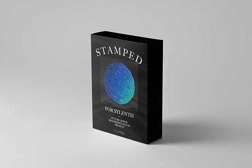 Stamped Preset SoundBank for Sylenth