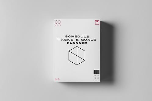 Schedule, Tasks & Goals Planner