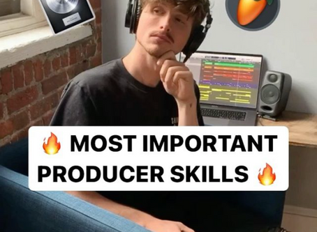 Most Important Music Production Skills