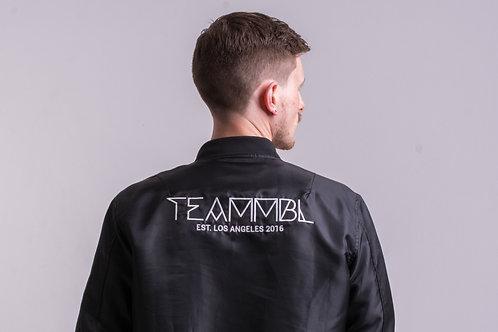 TEAMMBL Bomber Jacket Back View