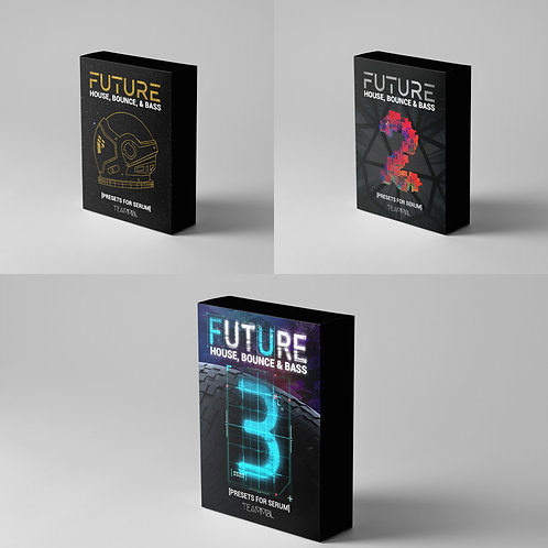 Future House Preset Discount Bundle for Serum