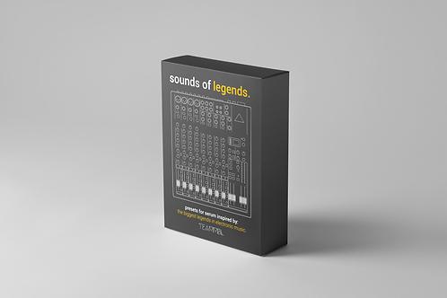 Sounds of Legends Preset SoundBank for Sylenth