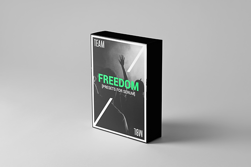 Freedom Preset SoundBank for Serum