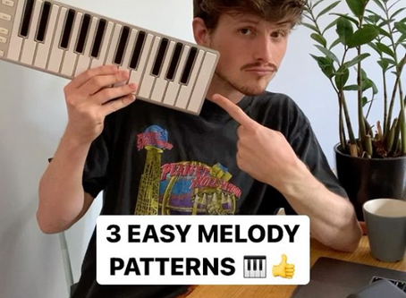 3 Easy Melody Patterns for Music Producers