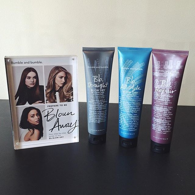 In between visits, this is the perfect product to give your hair an extra push when blow drying! Sna