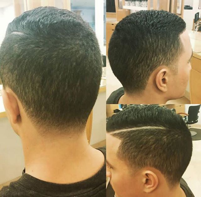 Another awesome cut by Gerardo! Call 973-628-7866 to schedule your appointment!__#hair #hairstyle #h