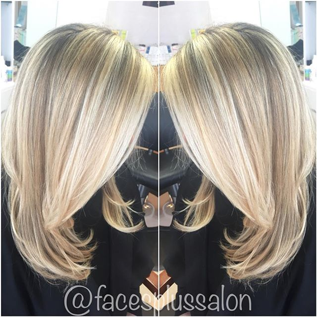 #BlondeAmbition! 😍 Call to book your appointment ! (973)-628-7866! #FacesPlusSalon_•_•_•_#hairpaint