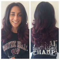 Book Your Appointments for Fun Colorful Hair Painting! We Love This