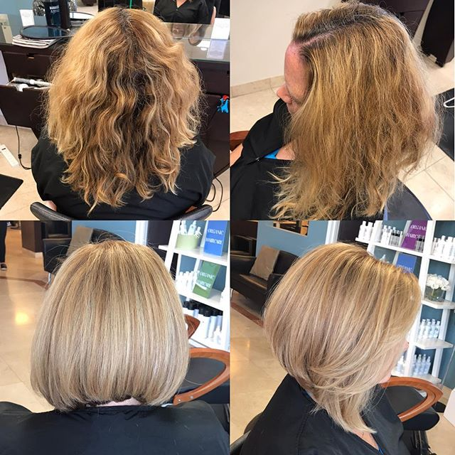 😍😍W O W! Fabulous color, highlights, and cut by KIMMI!Book your appointment today! 973-628-7866 Fa