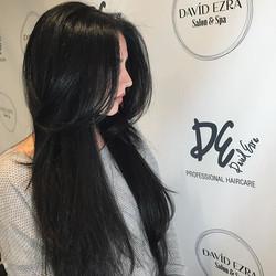 Beautiful Haircut on this Beautiful Girl! Haircut by David at David