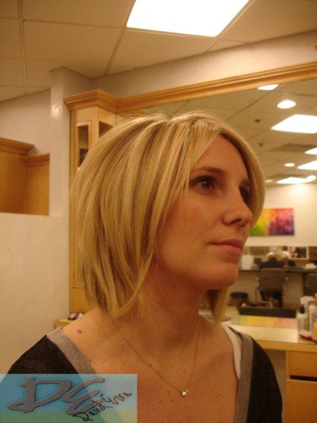 Haircut & Highlights by David