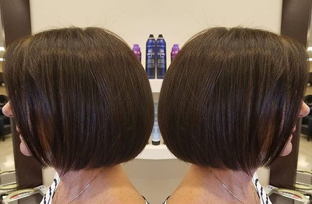 😍😍 A sleek bob for this lovely client! Cut & Style by Gerardo!  Book your appointments now! 973-62