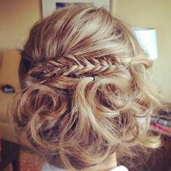 Bridal Hair by Stylist Fani
