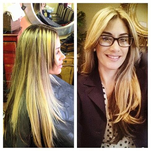 Before and After by Stylist Fani