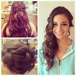 Some Amazing Hair & Makeup Done by Stylists at Faces Plus Salon! Cal