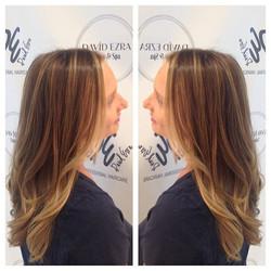 Beautiful Hair Painting by Lana