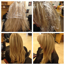 Hair Painting and Haircut by Shida