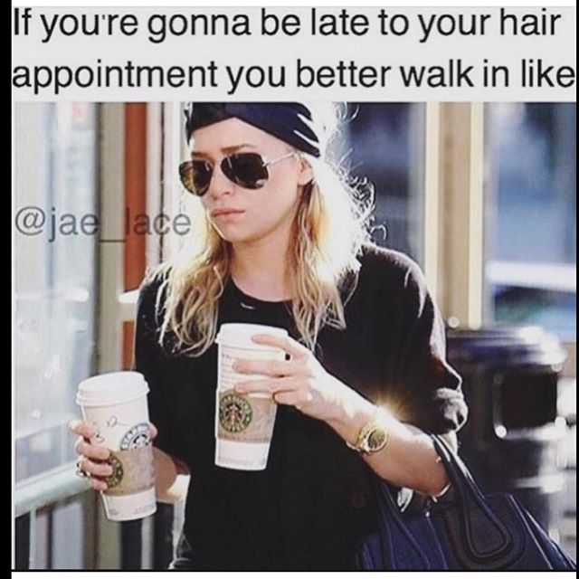 #Starbucks = Instant forgiveness🙋💁Call to get in our chairs today! 973-628-7866_FacesPlusSalon •_•