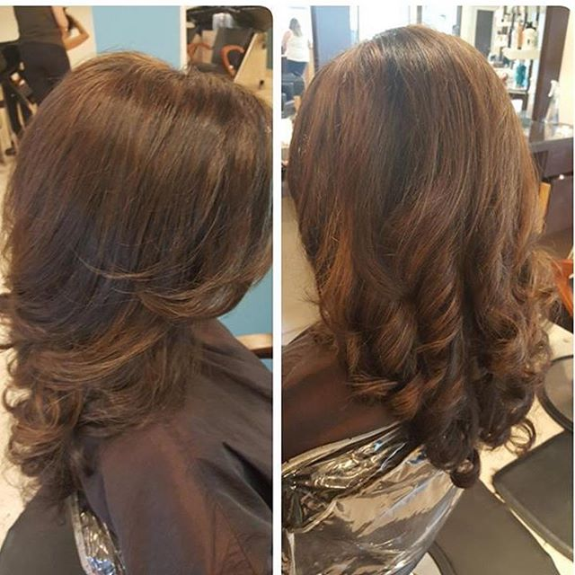 blowout for the perfect finish! Call to book your appointment now 973-628-7803! ._._._