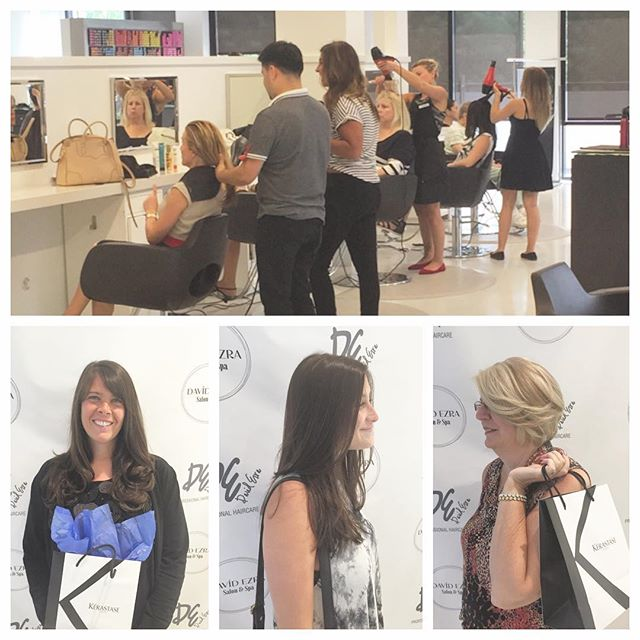 "The ""Salvage Your Summer Hair"" Event Yesterday was Such a Success! O"
