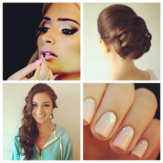 Book Your Appointments for our Prom Queen Special Package! Includes: Hair, Makeu