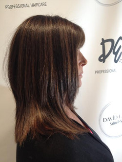Color, Painting and Haircut by David