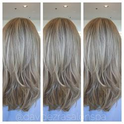 Amazing Hair Painting by David at David Ezra Salon & Spa! To learn t