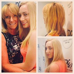 Mother & Daughter Haircuts by Stylist Sofia! #DEluxe 973-628-7803 #h