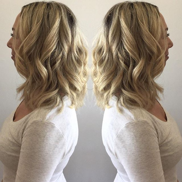Beachy & Blonde _ Cut & Style 💇🏼💁🏼 by Stylist Stephanie! Book your appointments now! 973-628-786