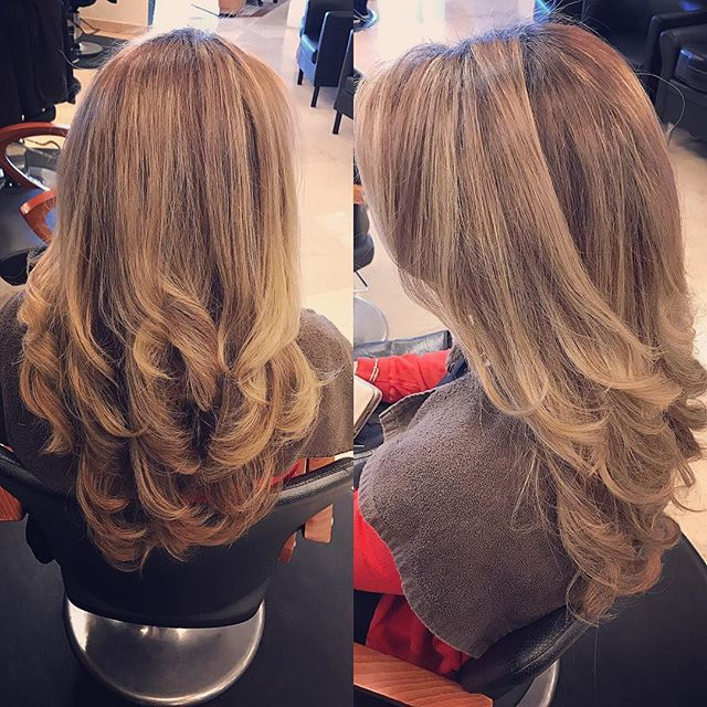 Beautiful Blowout by Samantha! Book your BLOWOUT appointment TODAY & receive $5 OFF! Today ONLY! wit