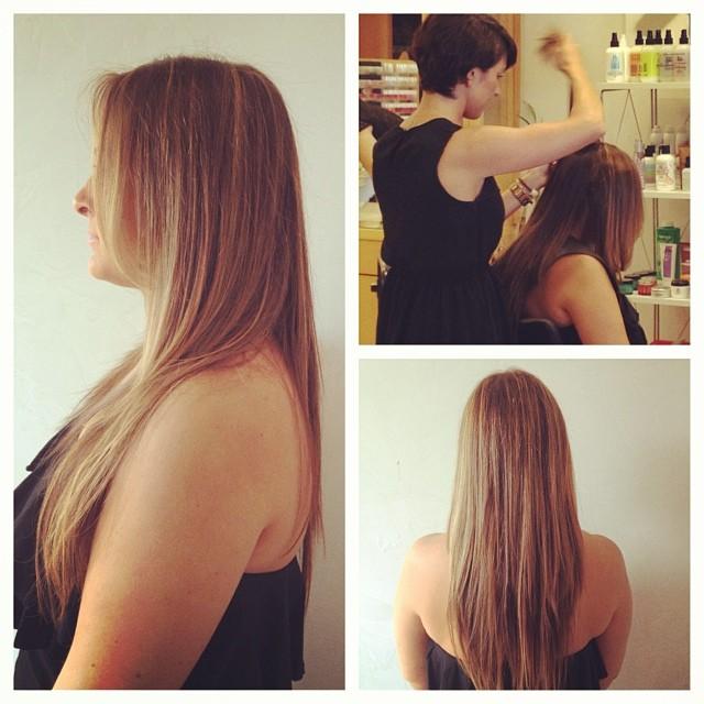 Platinum Seamles Hair Extensions!!!