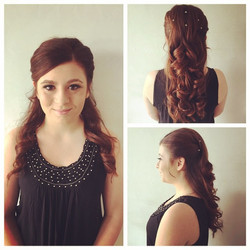 Prom Season is Here! Beautiful Updo & Makeup Application by Stylist