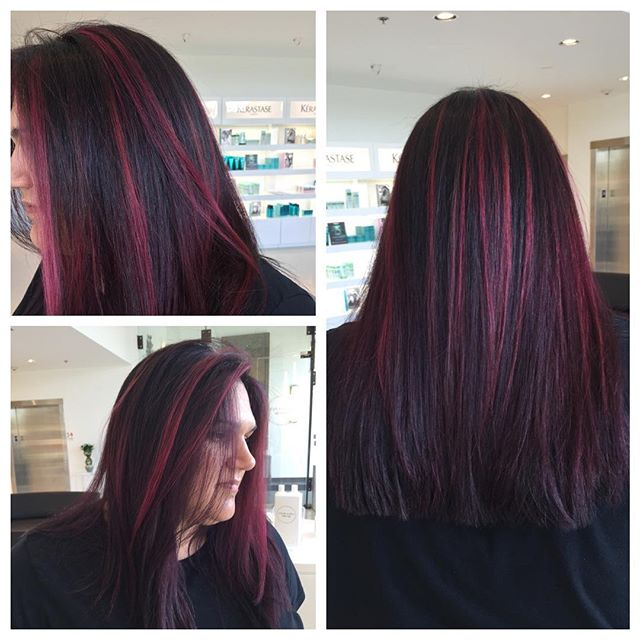 Color, Cut & Balayage by Stylist Sofia! Bright & Vivid Highlighting