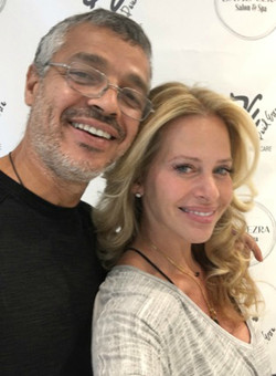 David & Client Dina Manzo