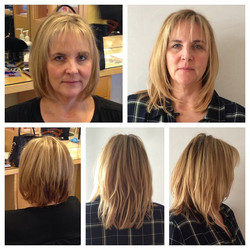 Before & After Extensions by Shida