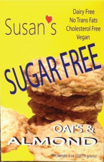 Susan's Sugar Free - Vegan - Almond