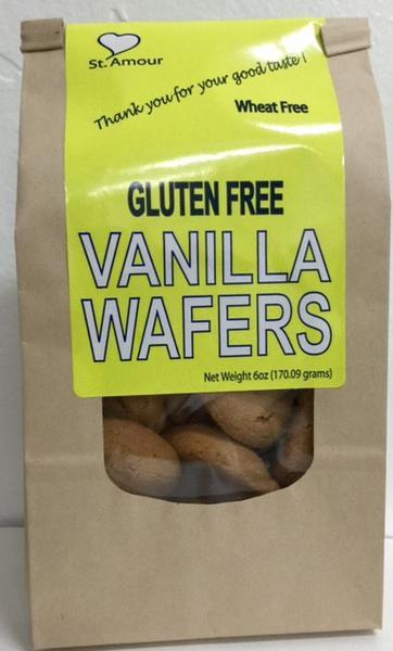 St Amour WAFERS - Vanilla - Gluten Free