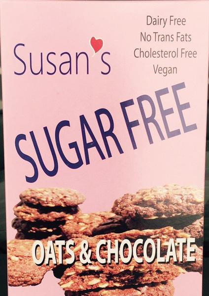 SUSAN'S SUGAR FREE Vegan cookies - Chocolate