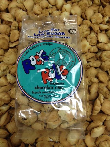Rocks N' Rolls - Raspberry & Chocolate Chips - vegan